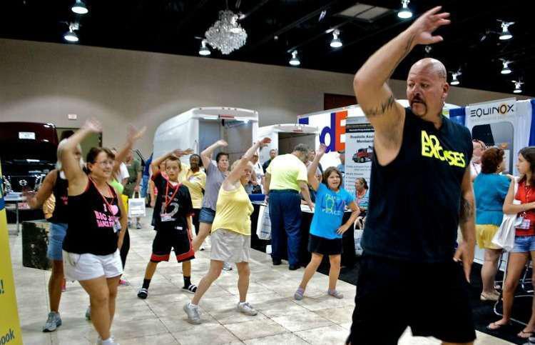 Big John Drury Aka Dancing Trucker  >> Dancin Trucker Issues Healthy Video Dance Challenge