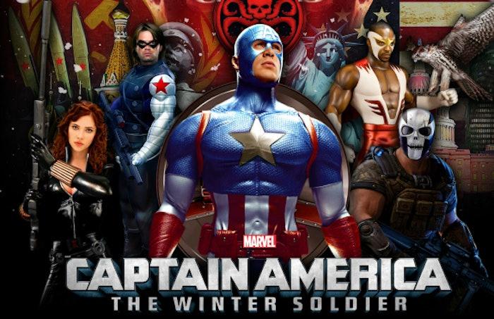 best captain america