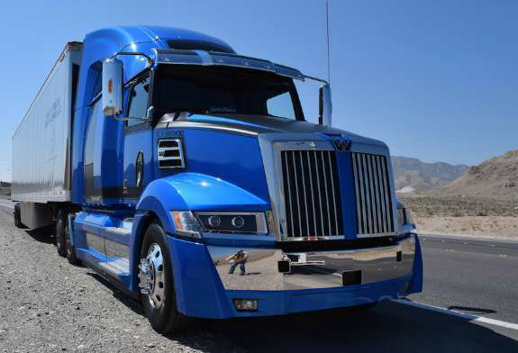 Test Driving The New Western Star 5700xe