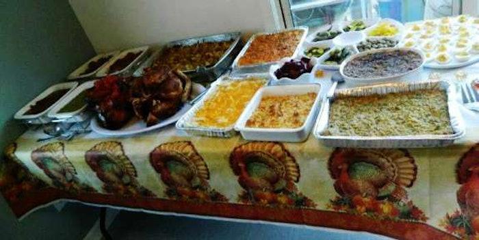 Thanksgiving-spread