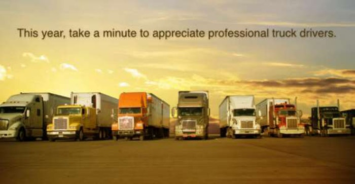 thanks to truckers