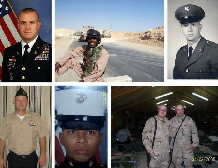 veterans day collage – Untitled Page