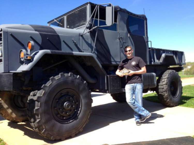 Former Military Trucks Get Custom Treatment New Lives