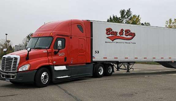 Bay & Bay Transportation truck