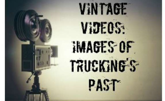 Vintage video features older trucking companies