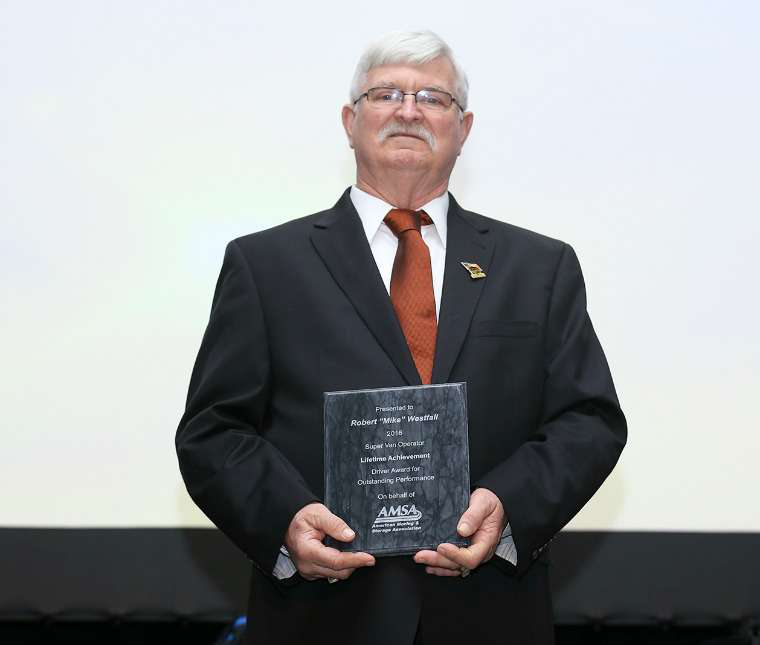four truckers earn awards from moving association