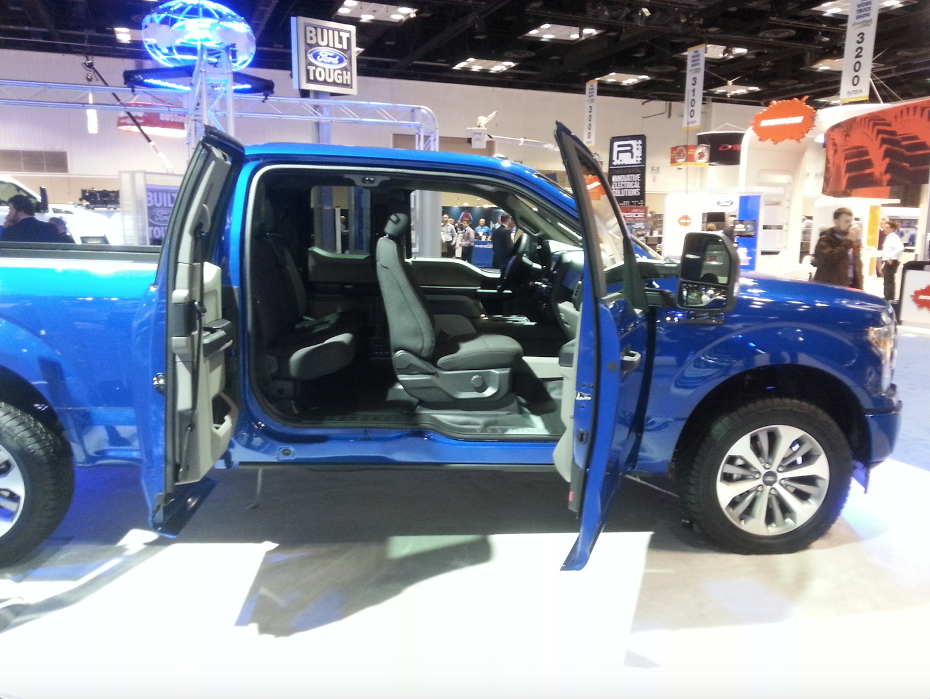 2018 Ford F 150 featured at Work Truck Show