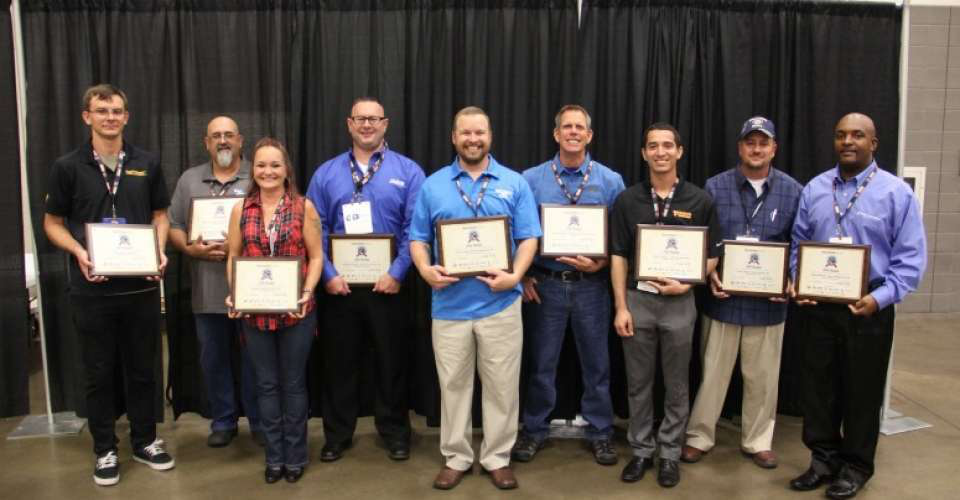 Finalists from the 2016 Trucking's Top Rookie contest