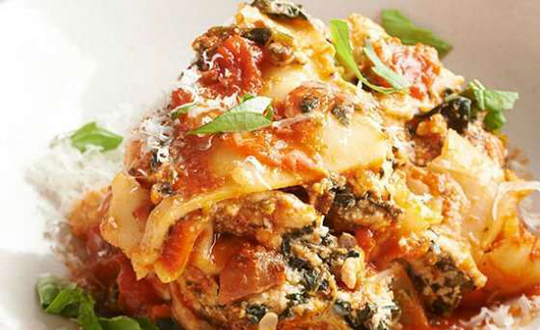 Spicy Turkey Lasagna