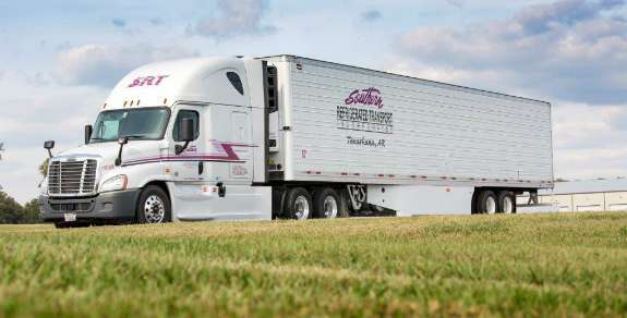 southern refrigerated semi truck