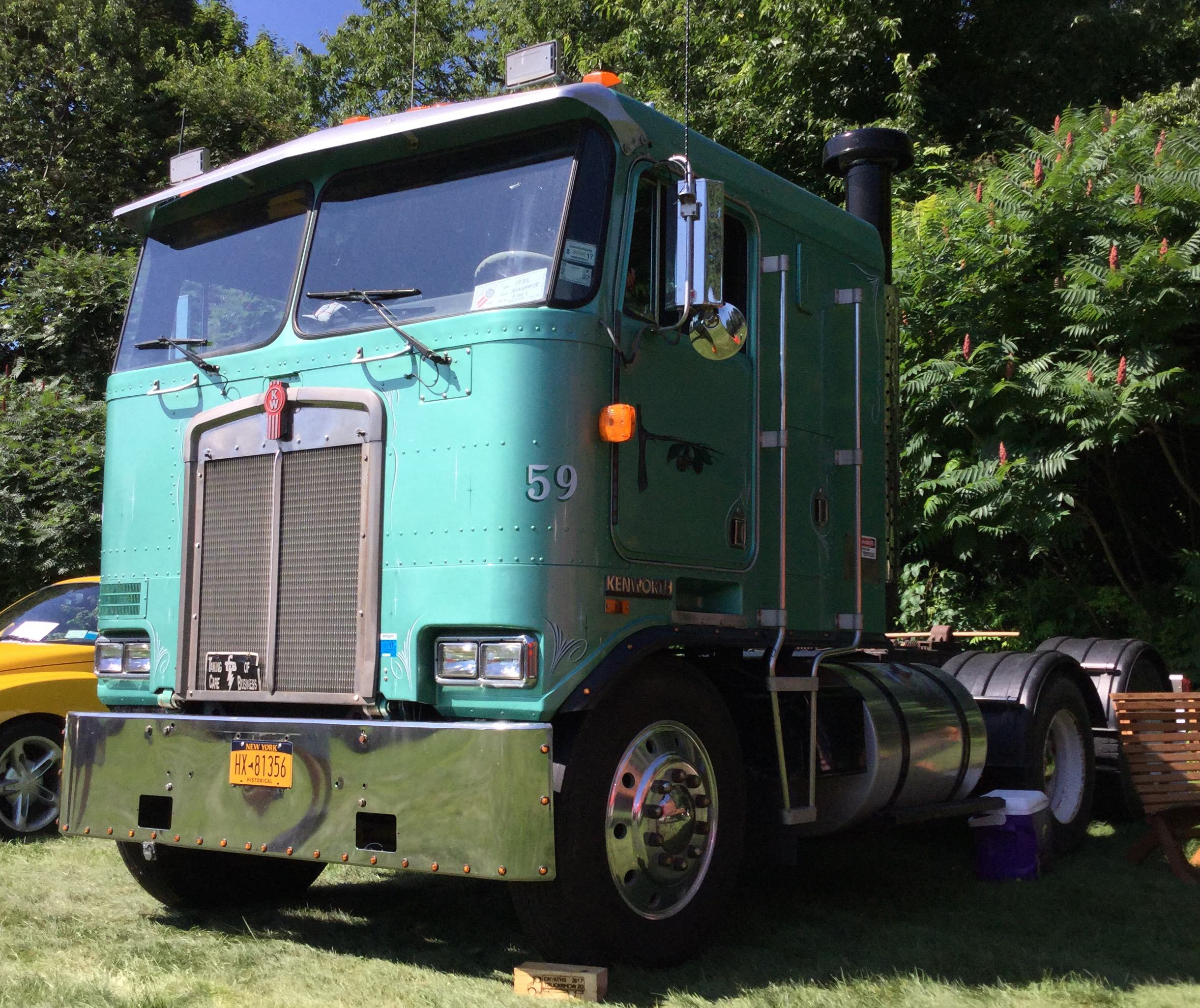 Central New York American Truck Historical Society Gathers