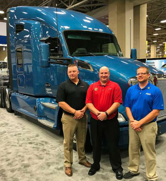 """Trucker finalists in the """"Transition Trucking: Driving for Excellence"""" program"""