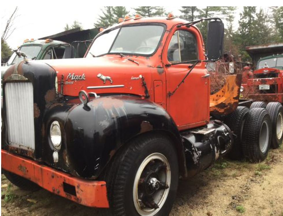 Auction scheduled for Aug  19 to sell vintage Mack trucks