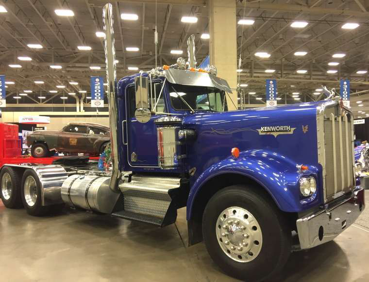 See The Antique Trucks On Display At Gats