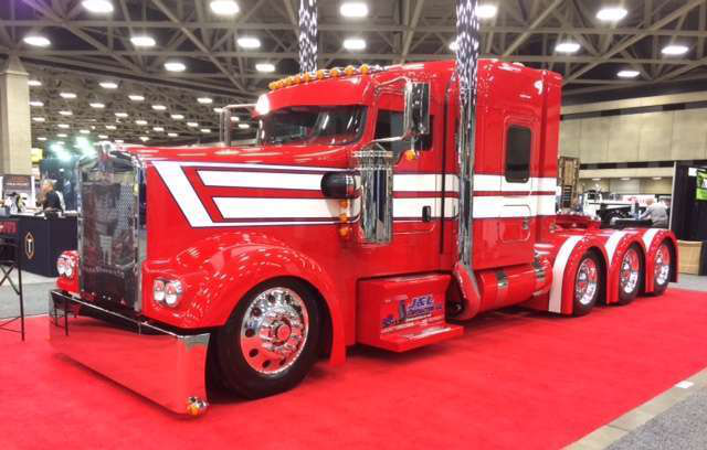 Show Truck at the Great American Trucking Show