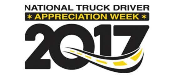 National Truck Driver Appreciation Week 2017