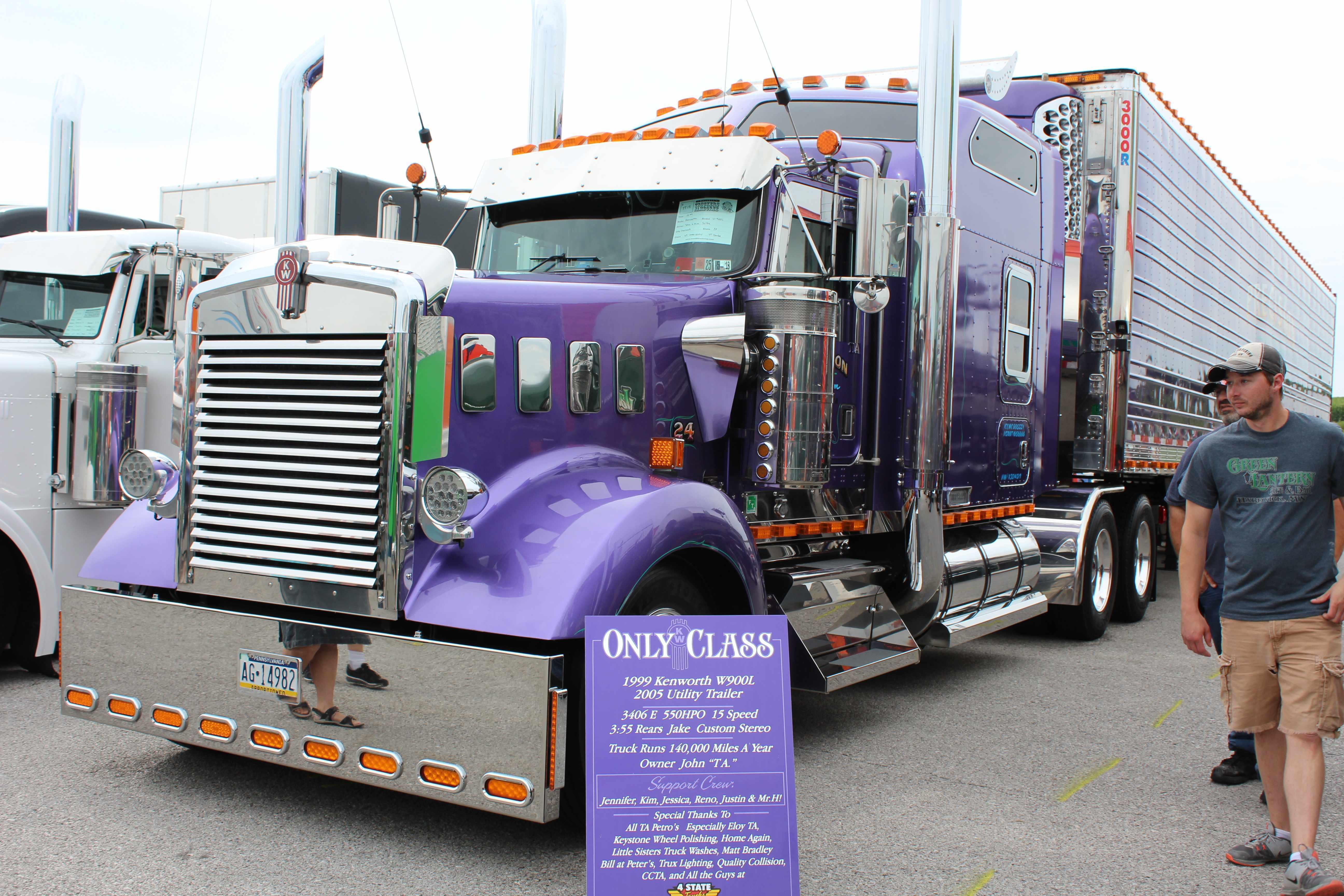 Jamboree's Truck Beauty Contest names winners