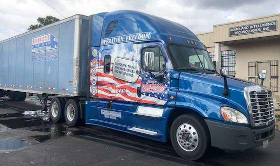 Roadmaster Trucking School Helps Get Water To Puerto Rico