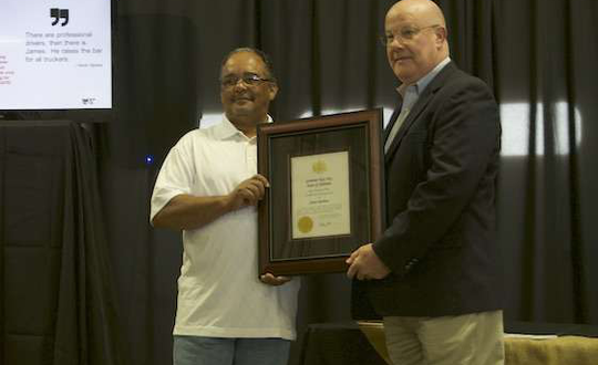 Alabama Trucking Association Certificate of Achievement