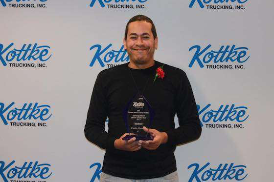 Carlo Garcia Earns the Distinguished Driver of the Year Award