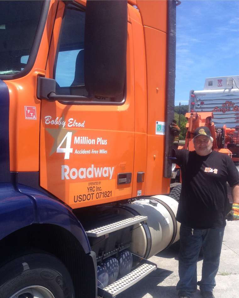 YRC Freight driver achieves 5 million accident-free miles