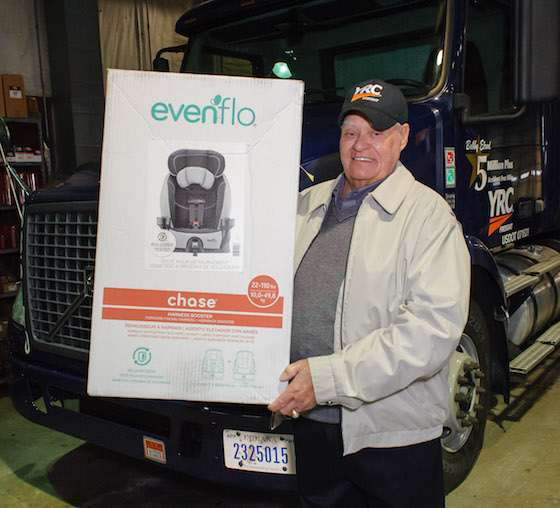 YRC Freight driver achieves 5 million accident-free miles