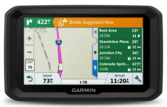 Garmin S Dēzl 580 Lmt S Loaded With Features To Help Truckers