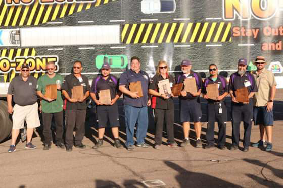 The Winners of the 2018 Arizona Truck Driving Championships