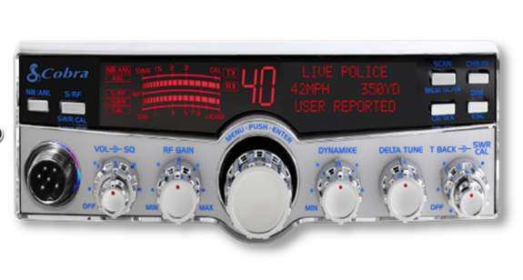 Photo of Cobra's 29 LX MAX CB Radio