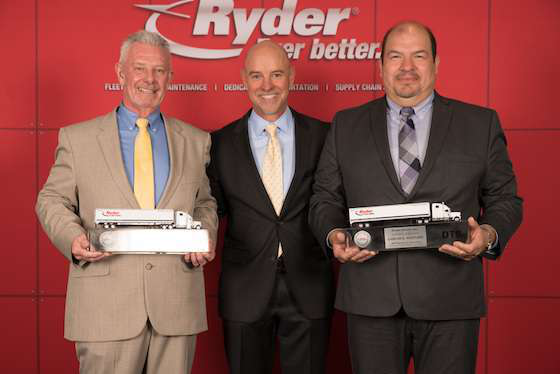 Ryder's Truck Drivers of the Year