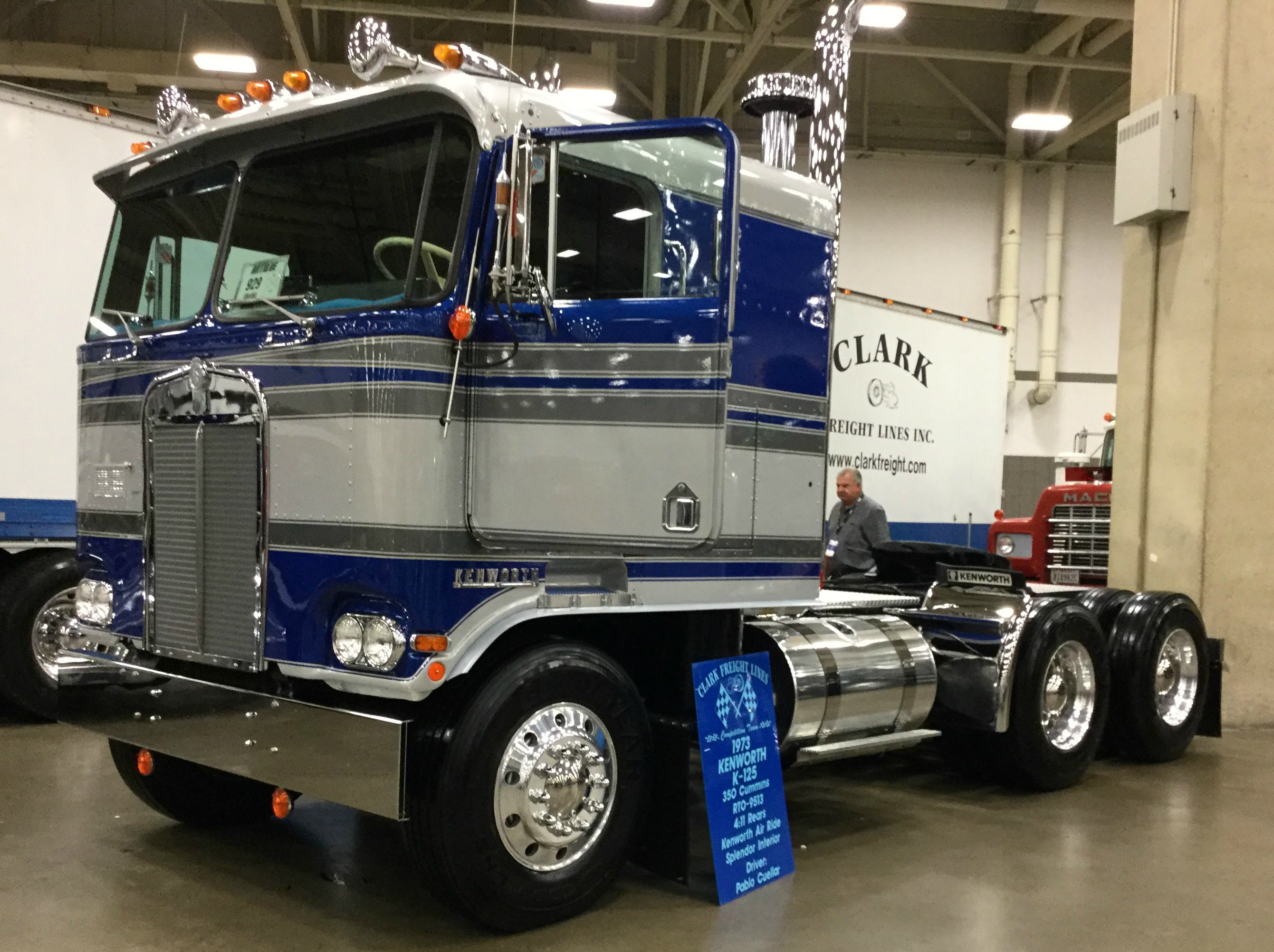 Great American Trucking Show Featured Many Coes 1980 Ford Coe Truck Clark