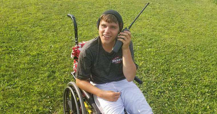 Truckers come together to support 16-year-old Wisconsin boy