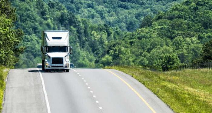 HOS-truck-on-road