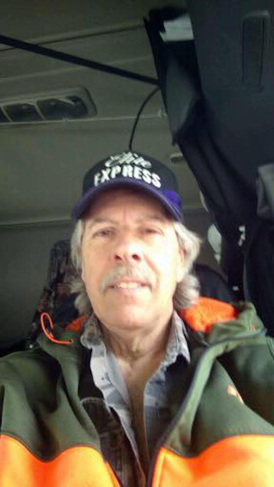 Truck Driver Selfie