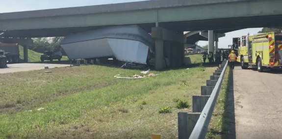 One driver dies in two-truck crash on I-64 in Virginia