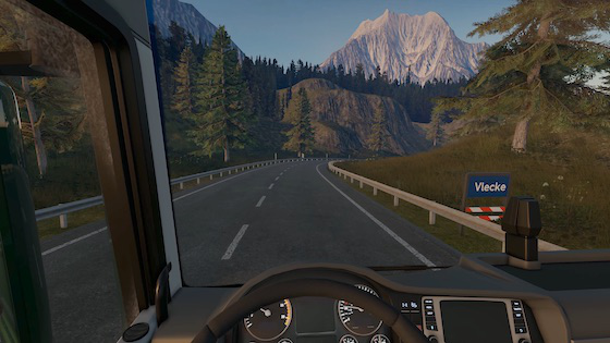 Trucking simulator game coming to PS4, Xbox One