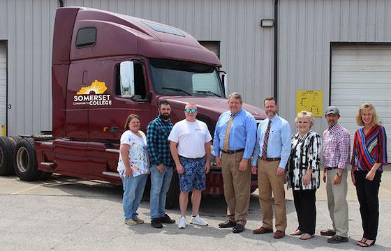 36a9d2109a868 CoreTrans donates truck to driver training program