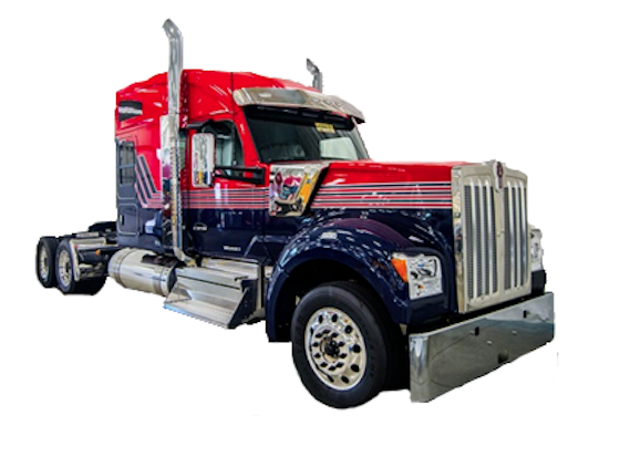 See the trucks on display at GATS New Truck Pavilion