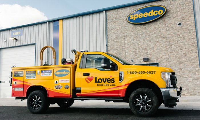 Love's Truck Tire Care