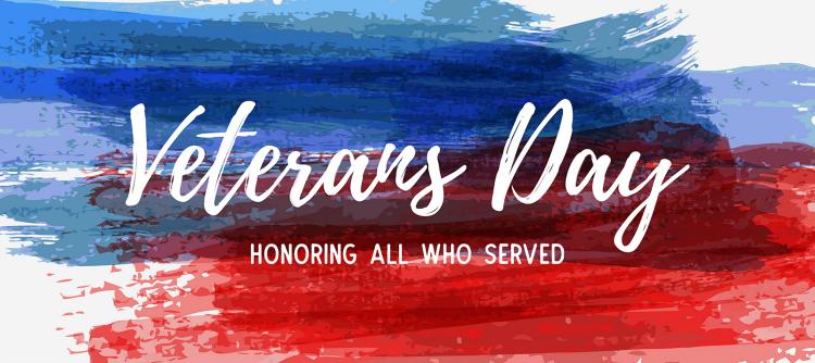 U.S. veterans recognized, receive thanks on Veterans Day 2019