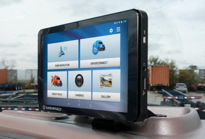 TND Tablet 85 on dash