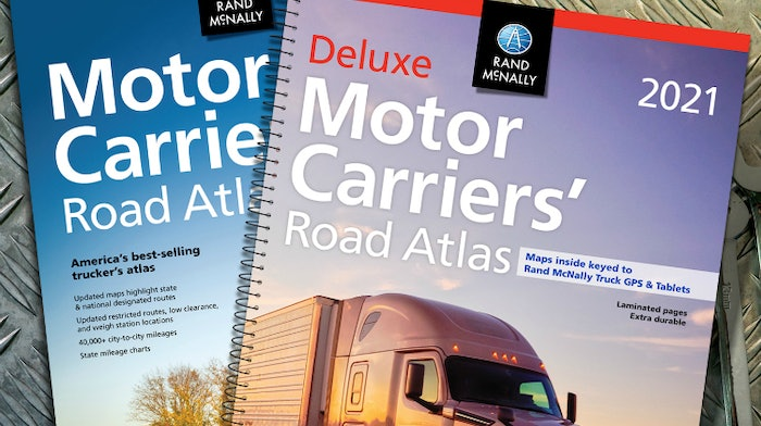 1-Rand McNally Motor Carriers' Road Atlases 2021 Edition
