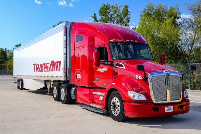 TransAm Trucking Truck