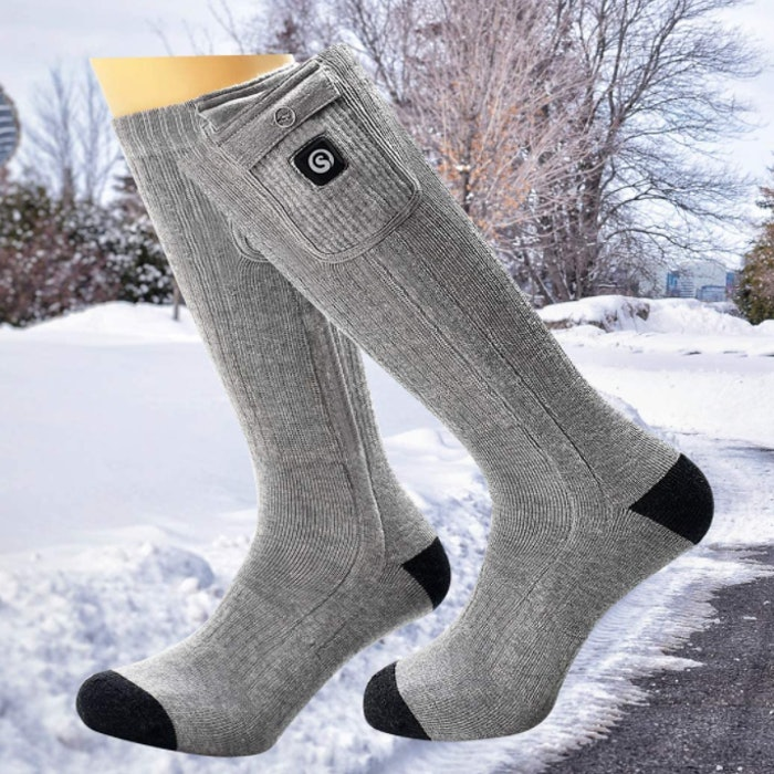 Snow Deer Rechargeable Electric Heated Socks