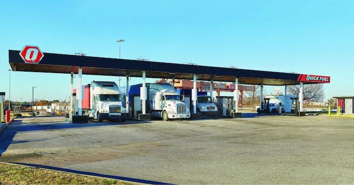 Quick Fuel station