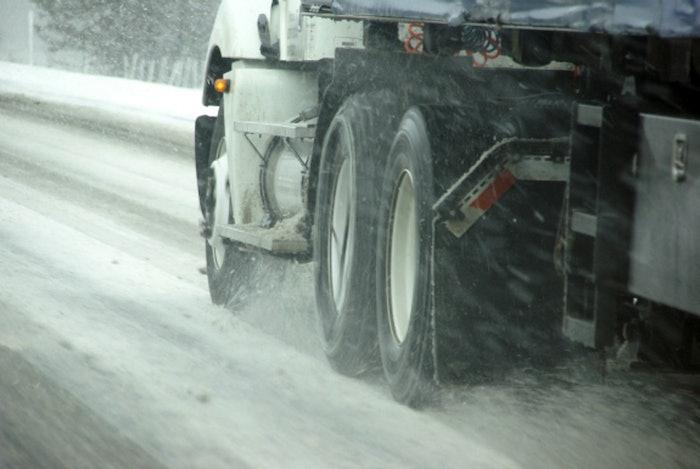 Tn truck In Winter (1)