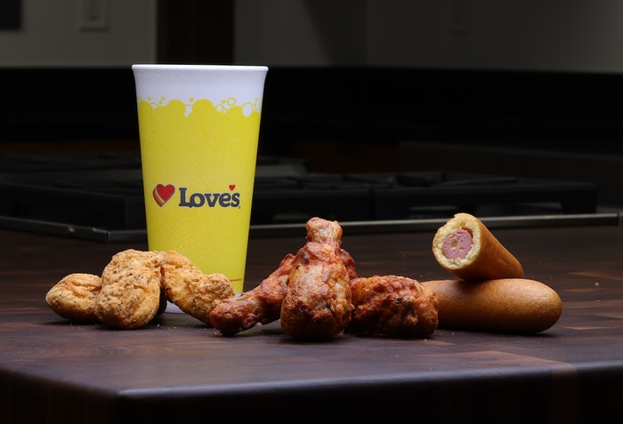 Love's New Chicken Product