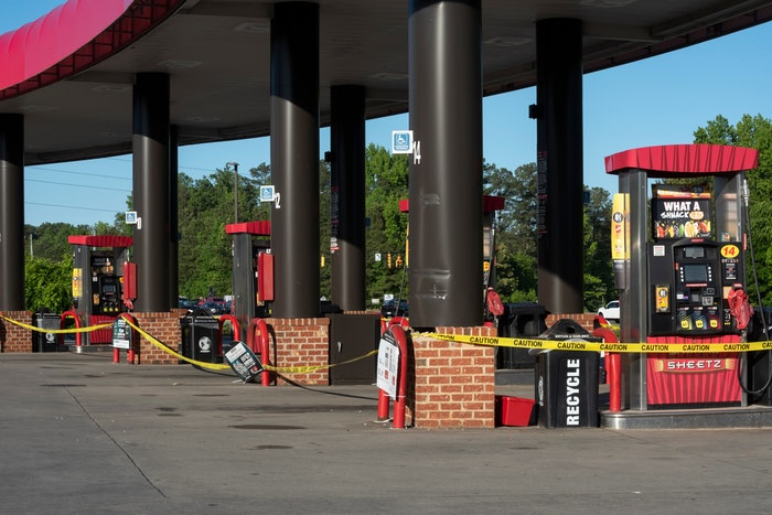 Gas stations and truck stop across the South and Southeast continue to have supply problems because of the Colonial Pipeline closing. (Sharkshock / Shutterstock.com)