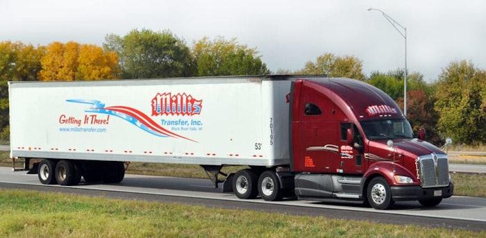 Millis Trucking 1