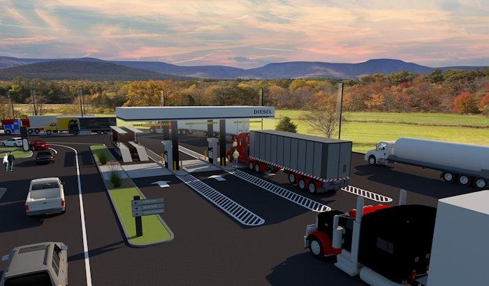 Diesel Fuel Exterior Rendering